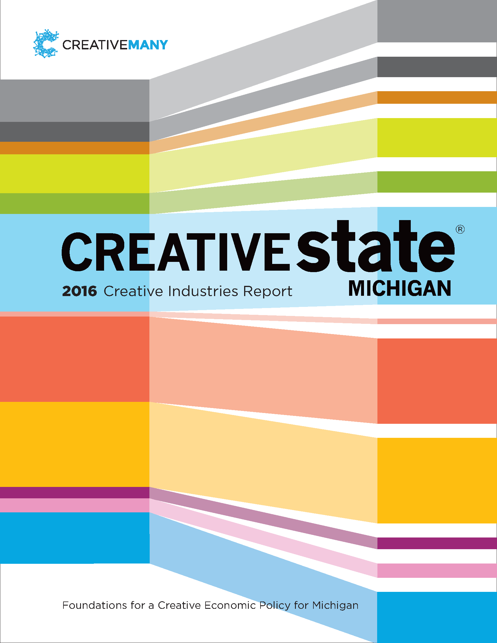 Creative State MIchigan report cover