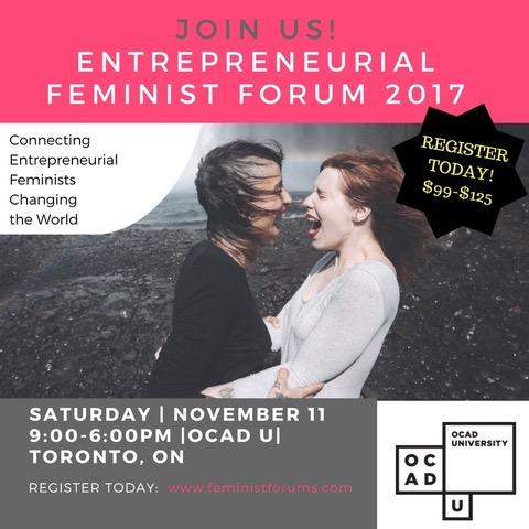 Entrepreneurial Feminist Forum