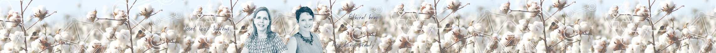 Fashion and sustainability web banner