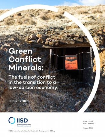 IISD Green Conflict Minerals final report cover