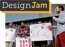 "Attendees present at DesignJam ""TrafficJam"""