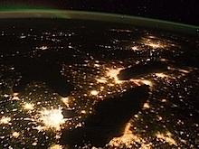 Satellite image of Southern Ontario, NASA